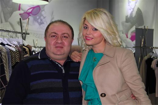 Татьяна Гончарова со стилистом Hamlet Couture