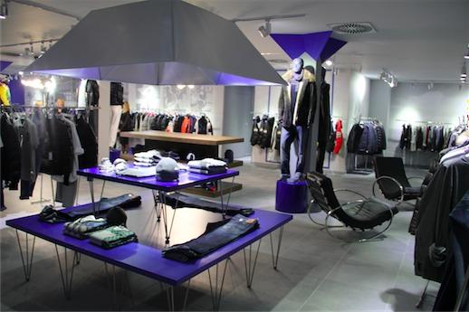 555 магазин брендовой одежды в Римини