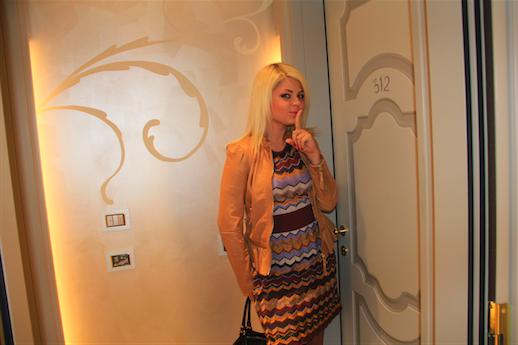 На показе коллекции Braschi 2013 в Милане