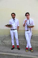 выставка мужской одежды во Флоренции